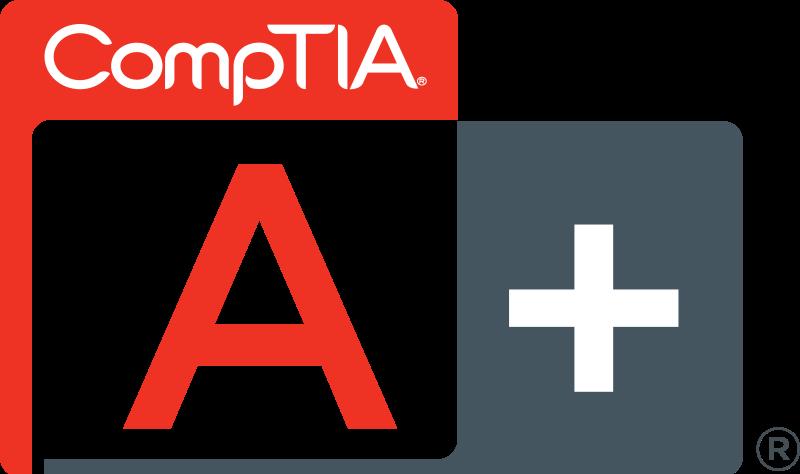 CompTIA A+ Cert Logo