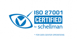 ISO 27001 by Schellman for data center operations