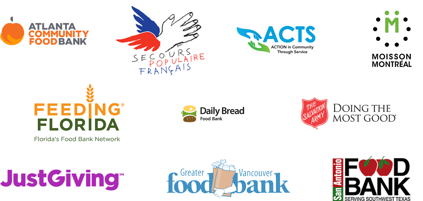 May's Month of Giving logos